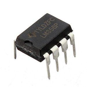 Вид микросхемы LM358P