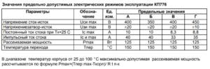 Параметры белорусского аналога irf740 - KP776