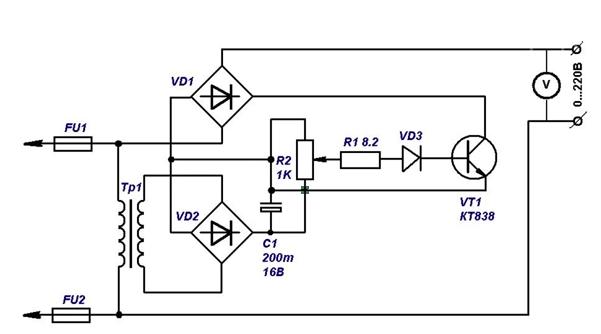 Схема работы с кт838а