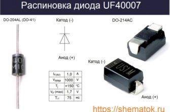 цоколевка uf4007