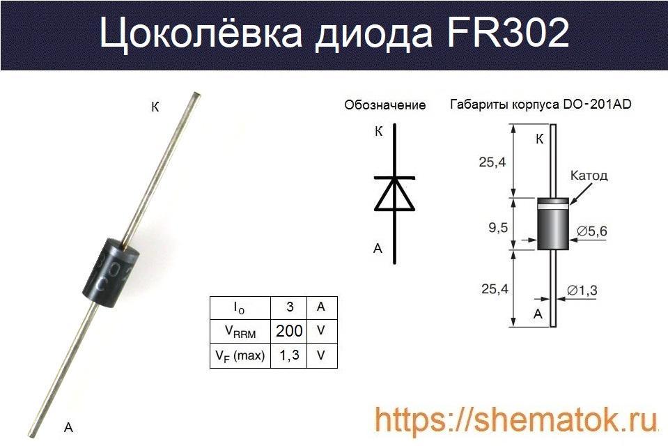 Цоколевка FR302