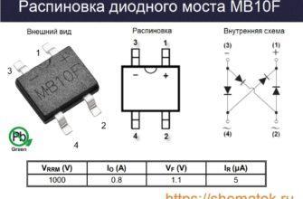 Распиновка MB10F